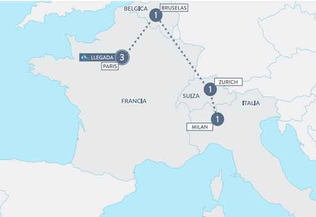Viaje sofisticada europa corto bardot