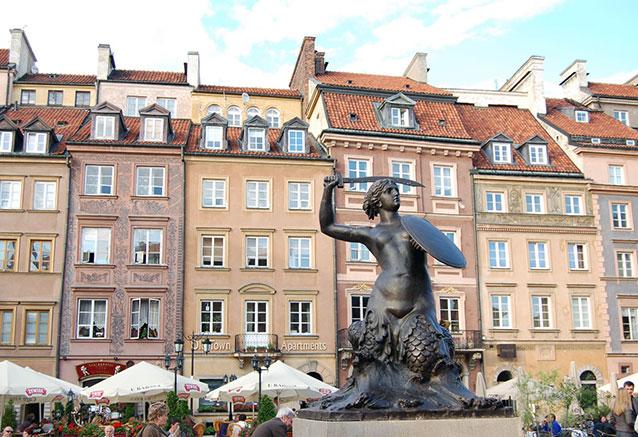 Viaje mazurka polaca Varsovia 1