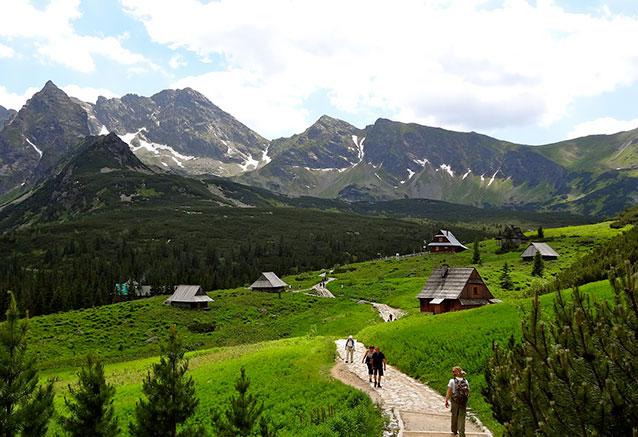 Viaje mazurka polaca Zakopane