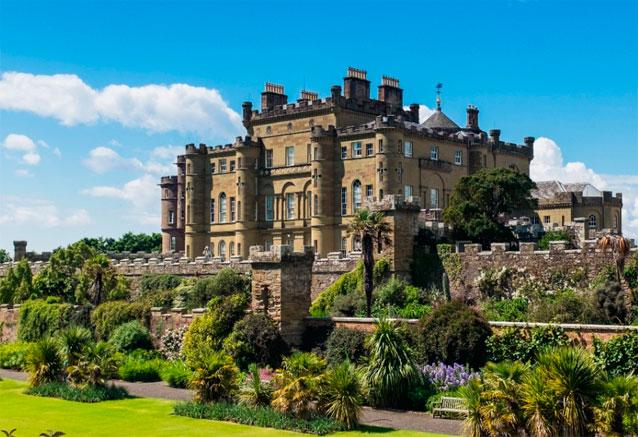Viaje gran tour britanico castillo escoces