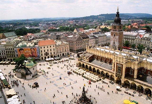 Viaje polonia sur norte Krakow rynek 01