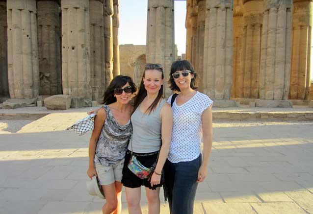 Viaje viaje egipto seguro Visitando el templo de Luxor
