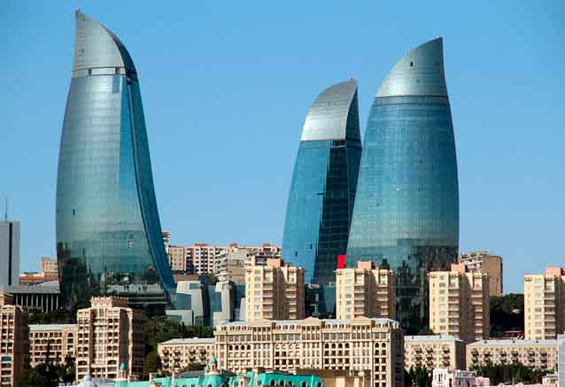Viaje viaje azerbaiyan baku moderno