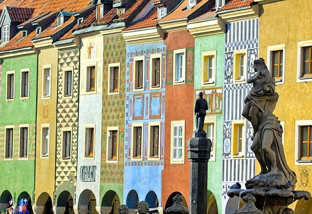 Foto del viaje ofertas maravillas polonia Plaza Mayor de Poznan en Polonia