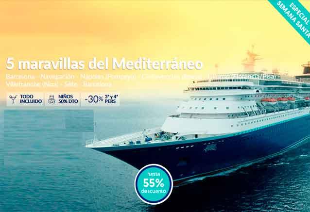 Foto del viaje ofertas crucero mediterraneo seman santa oferta pullmatur