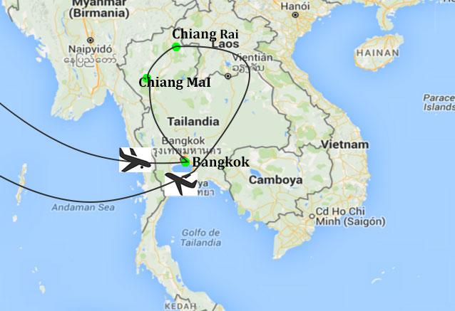 Viaje templos playas tailandia tailandia
