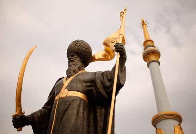 Viaje uzbekistan turkmenistan musulman enfadado