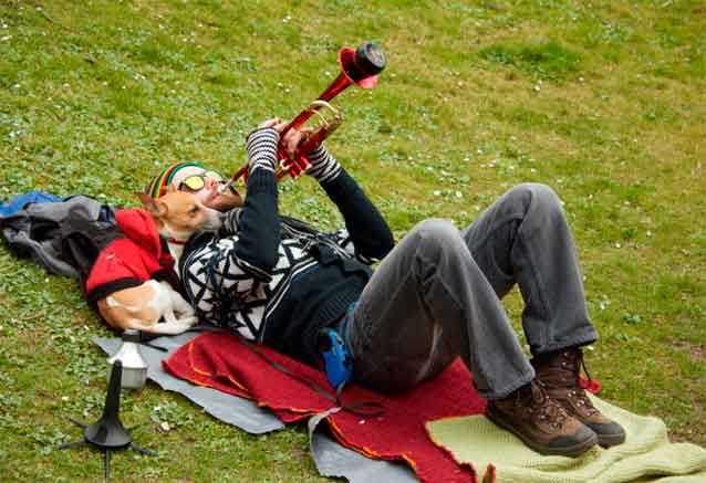 Foto del viaje ofertas budapest praga semana praga musico trompetista