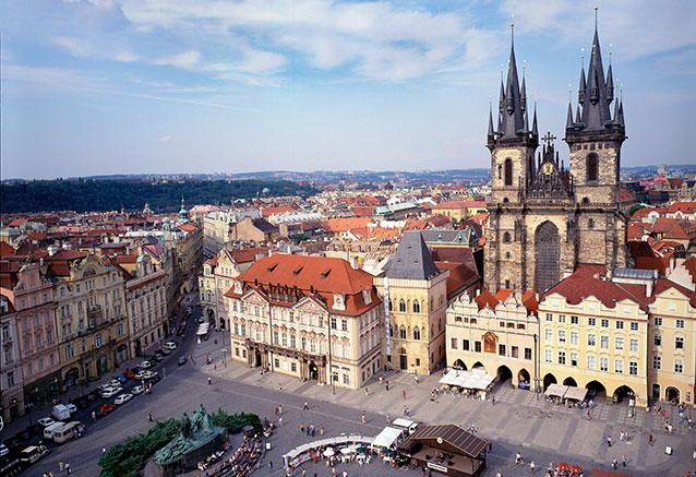 Viaje mas bellas ciudades europa Prague Czech Republic