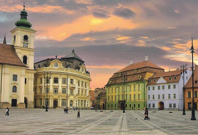 Viaje rumania transilvania carpatos Romania Sibiu