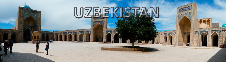 viaje organizado a Uzbekistan